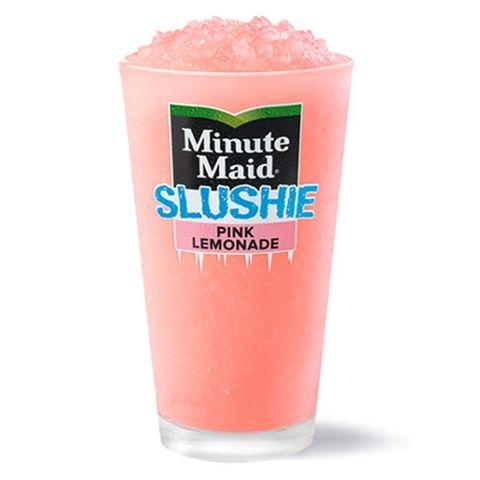 mcdonald's minute maid pink lemonade slushie