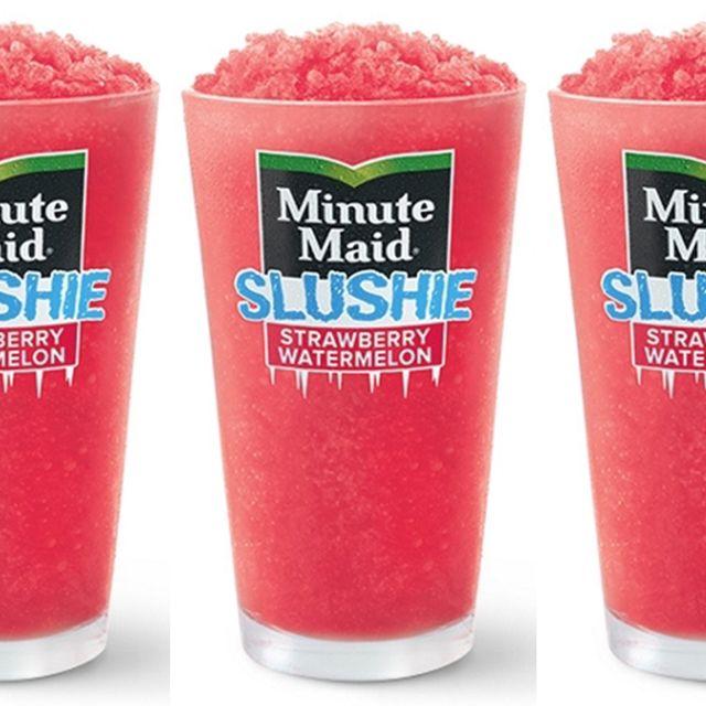 mcdonald's minute maid strawberry watermelon slushie