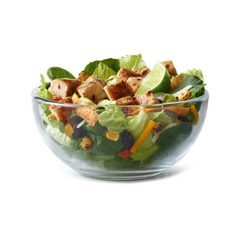 Dish, Food, Garden salad, Salad, Cuisine, Caesar salad, Ingredient, Spinach salad, Vegetable, Produce,