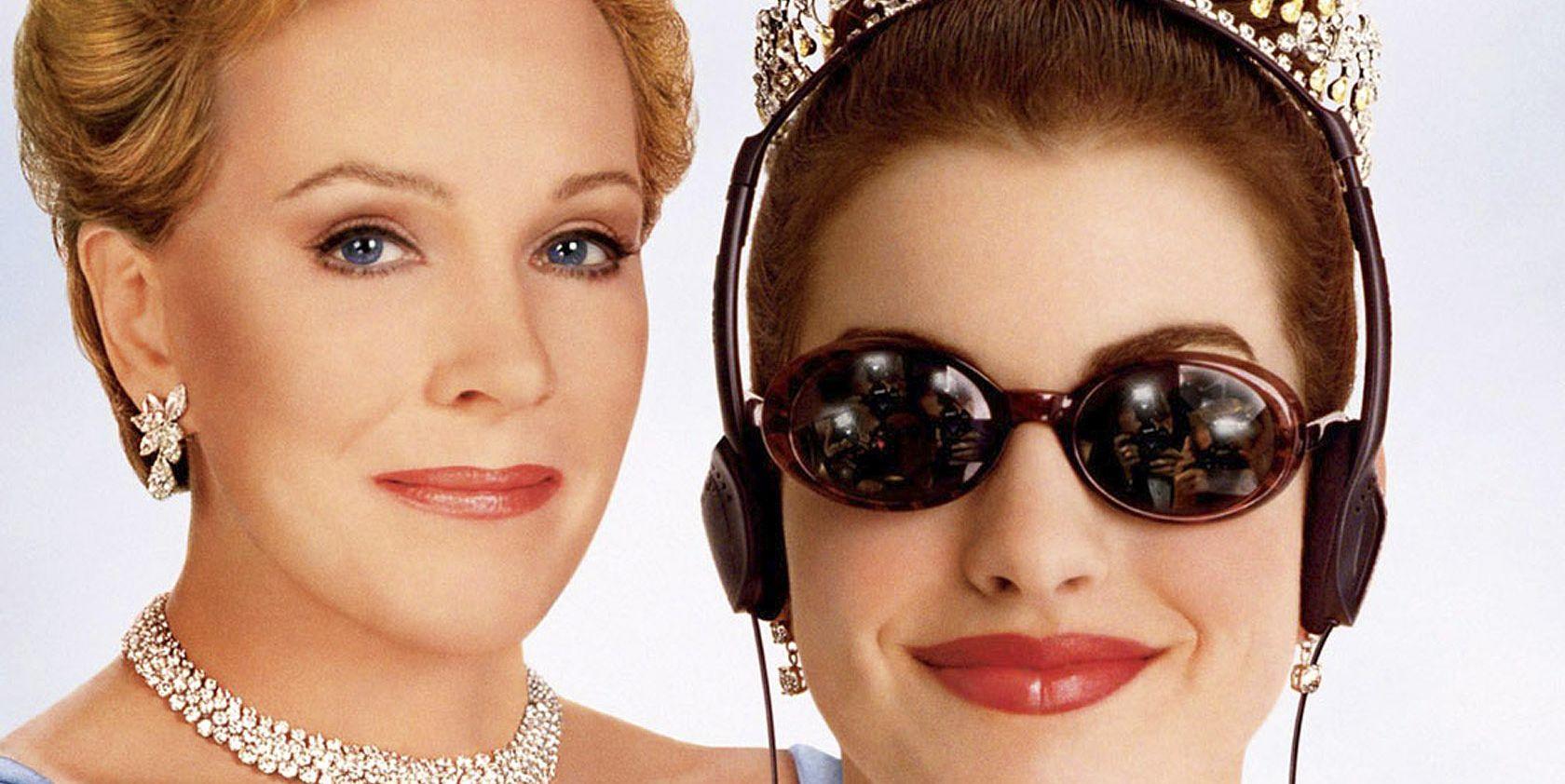 THE PRINCESS DIARIES, Julie Andrews, Anne Hathaway, 2001, (c) Walt Disney/courtesy Everett Collectio