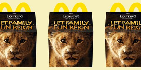 Mcdonalds Made The Lion King Happy Meal Boxes