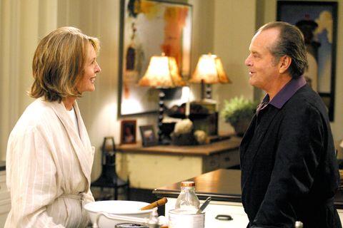 SOMETHING'S GOTTA GIVE, Diane Keaton, Jack Nicholson, 2003, (c) Columbia/courtesy Everett Collection
