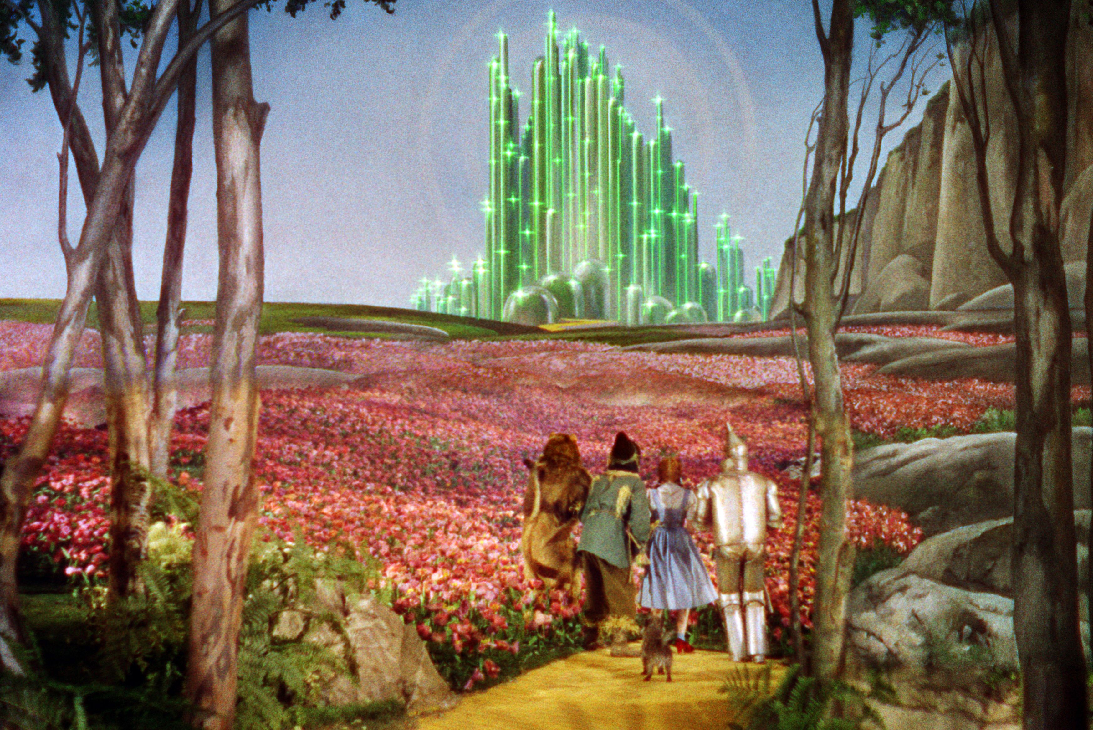 Watch Now There's no place like home, and no classic movie as beloved as Dorothy's adventures in Oz. The film left its imprint on the kinds of narratives and character types—wicked and good witches, scarecrows, tinmen, and cowardly lions, oh my—we see on film.