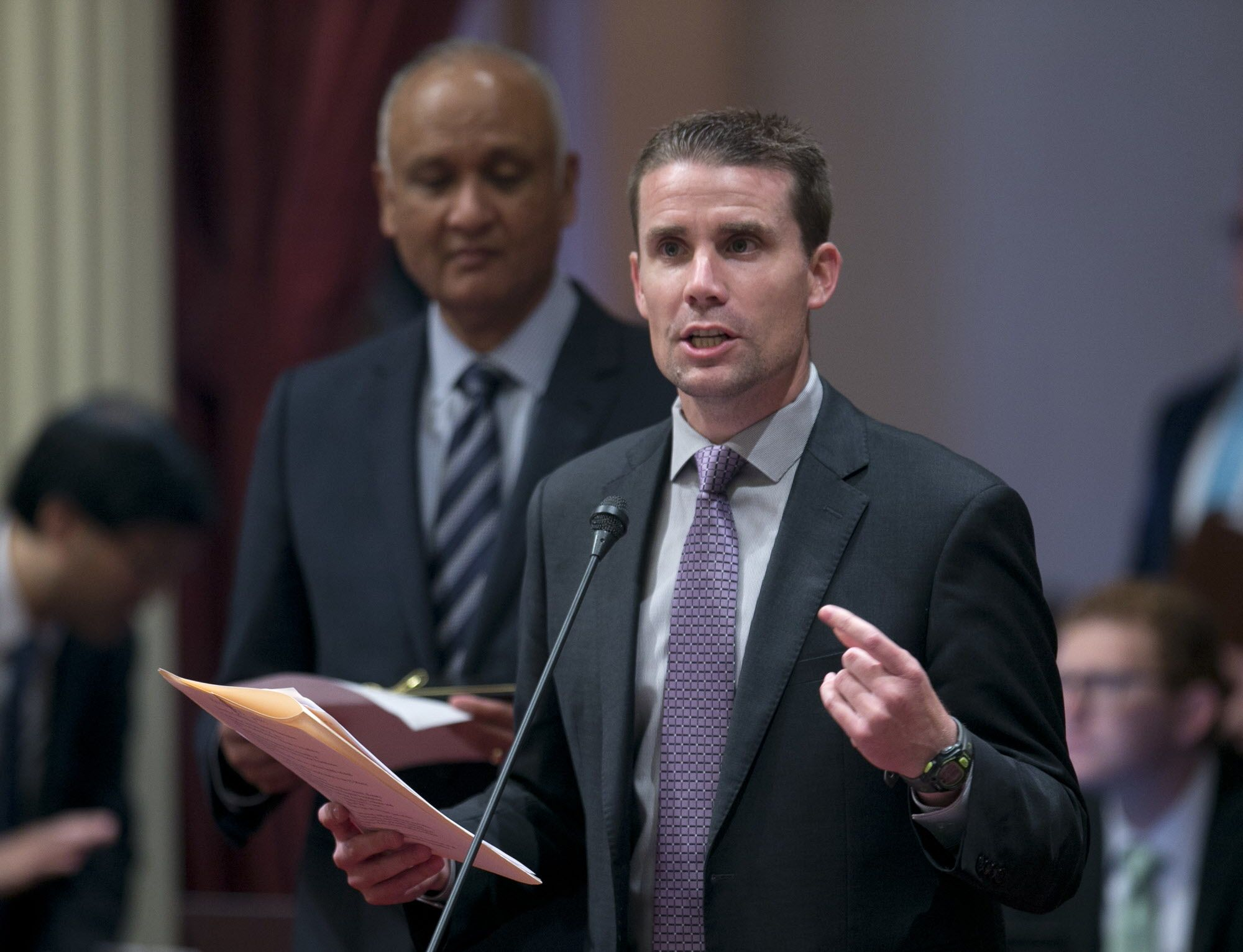 Sen. Mike McGuire, D-Healdsburg, file photo.