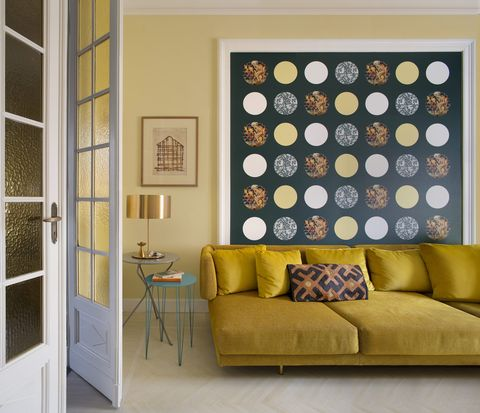turin home full of colour and pattern belonging to artist and design marisa coppiano