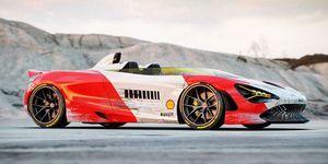 McLaren 720S Speedster Marlboro