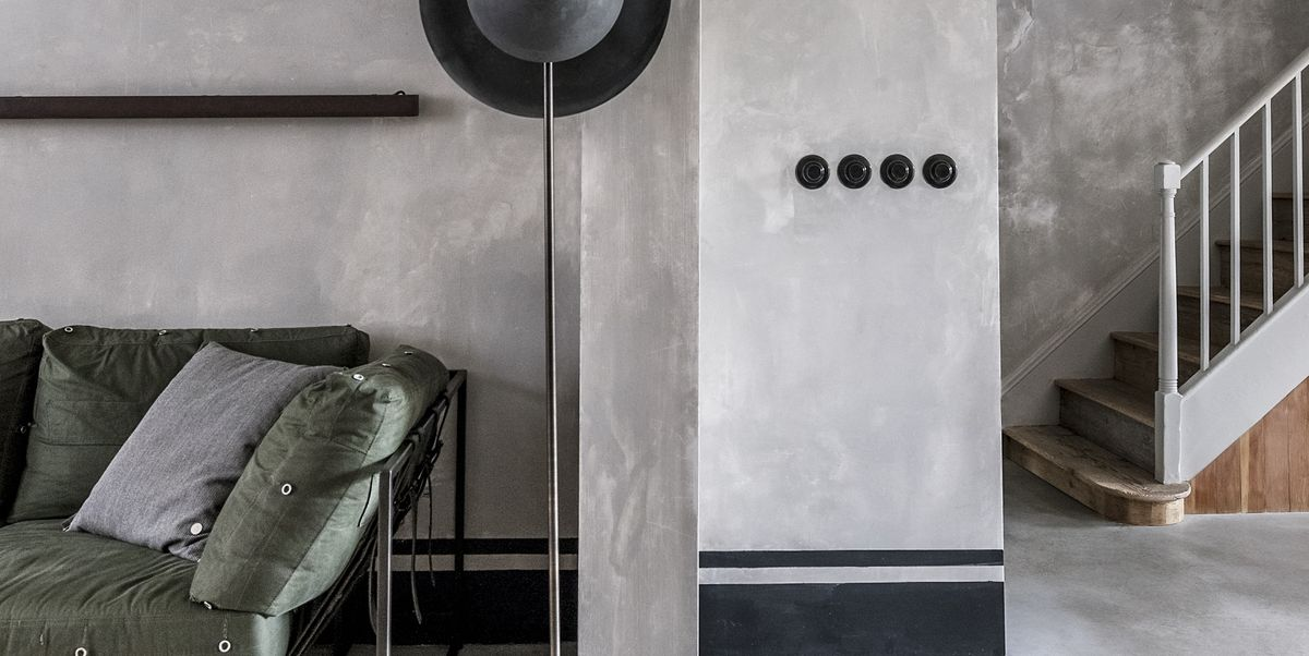 Architects McLaren Excell gave this Georgian home in London a beautiful and brutalist new look