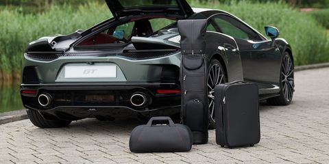 McLaren GT's Finishing Touch Is a Set of Matching Luggage