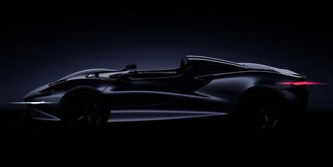 El McLaren Speedster se asoma en Pebble Beach