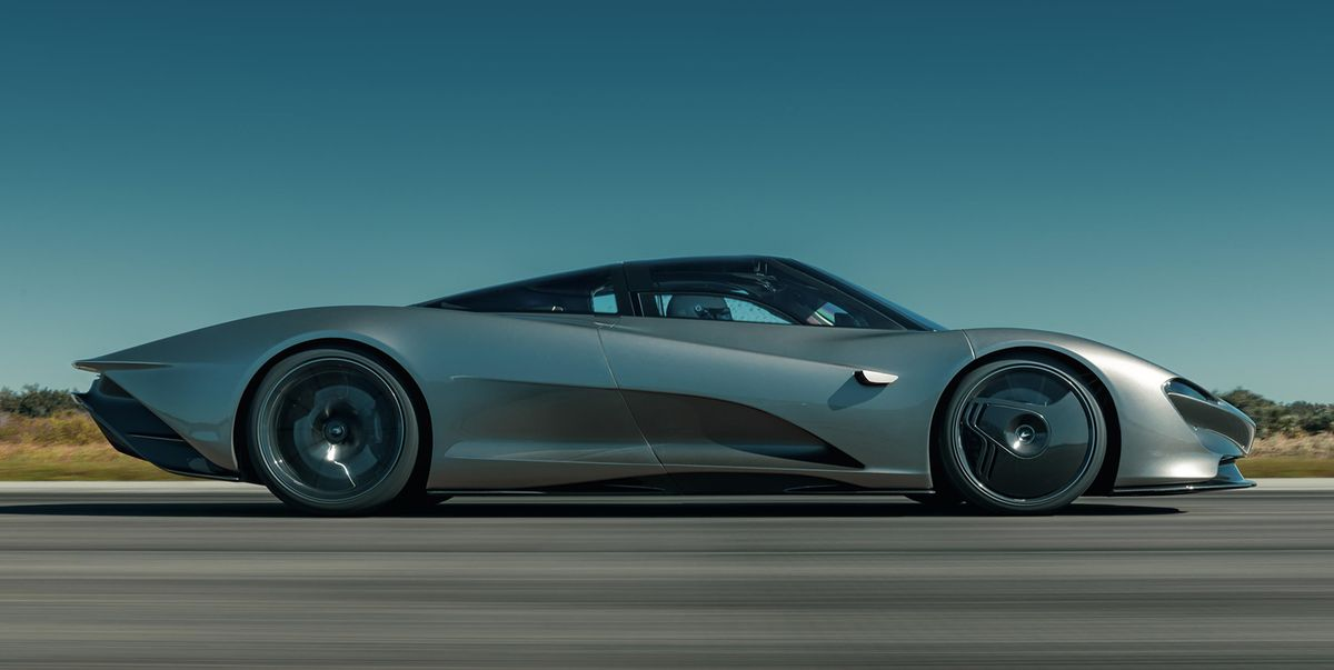 McLaren Speedtail Hits 250 MPH at Kennedy Space Center