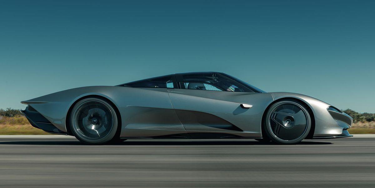 McLaren Speedtail Hits 250 MPH at Kennedy Space Center