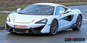McLaren Sport Series híbrido