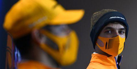 daniel ricciardo y lando norris, actuales pilotos de mclaren f1 team