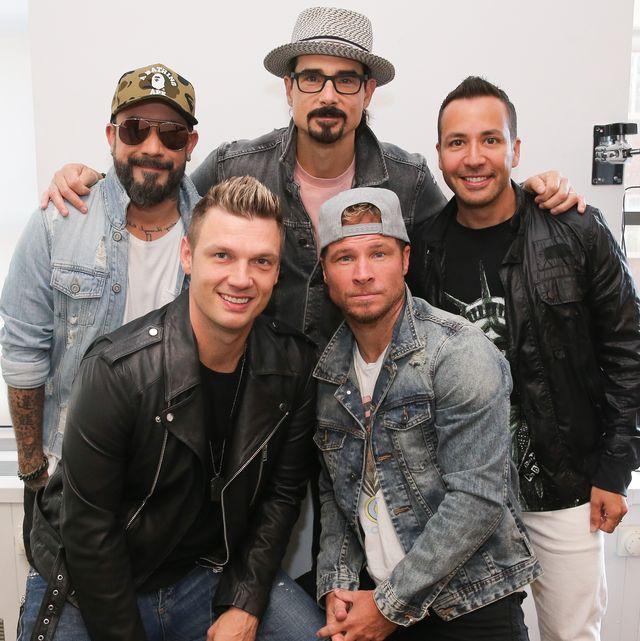 "the backstreet boys visit ""the elvis duran z100 morning show"""