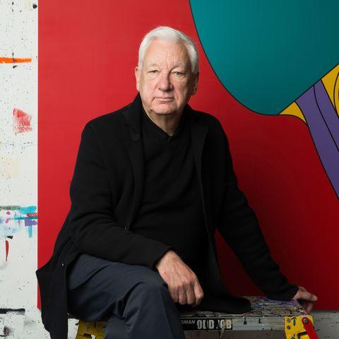Red, Yellow, Blue, Sitting, Art, Furniture, Artist,