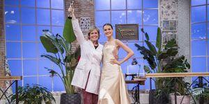 Rosa León, ganadora de la segunda edición de 'Maestros de la costura'