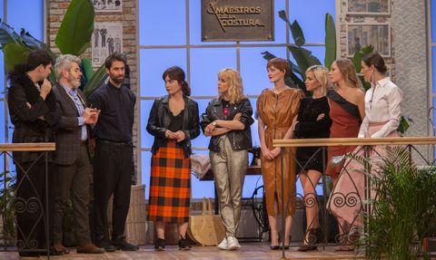 'Las chicas del cable', en la semifinal de 'Maestros de la costura'