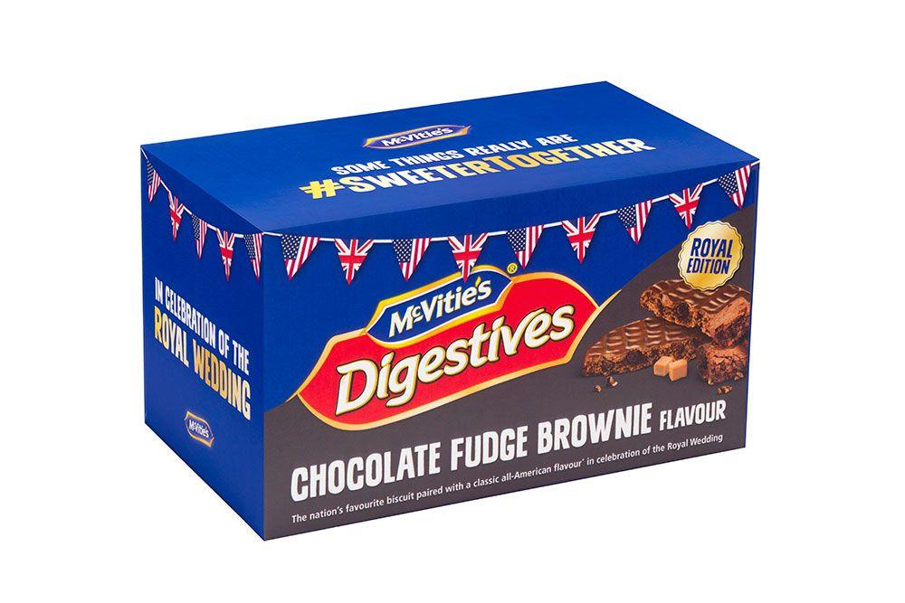 McVitie's Digestives Chocolate Fudge brownie flavour