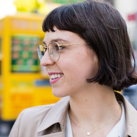 Hair, Glasses, Snapshot, Chin, Eyewear, Black hair, Smile, Vision care, White-collar worker,