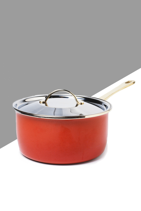 Saucepan, Cookware and bakeware, Lid, Sauté pan, Product, Frying pan, Metal, Crock,