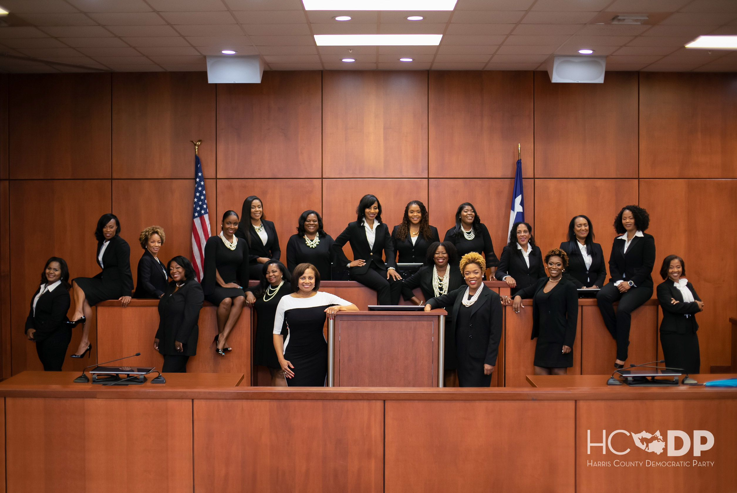 The Story of the Historic Election of 19 African American Female Judges in Texas