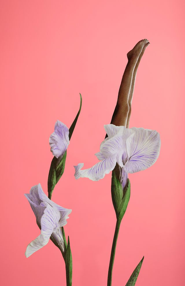 wellness stretching flower