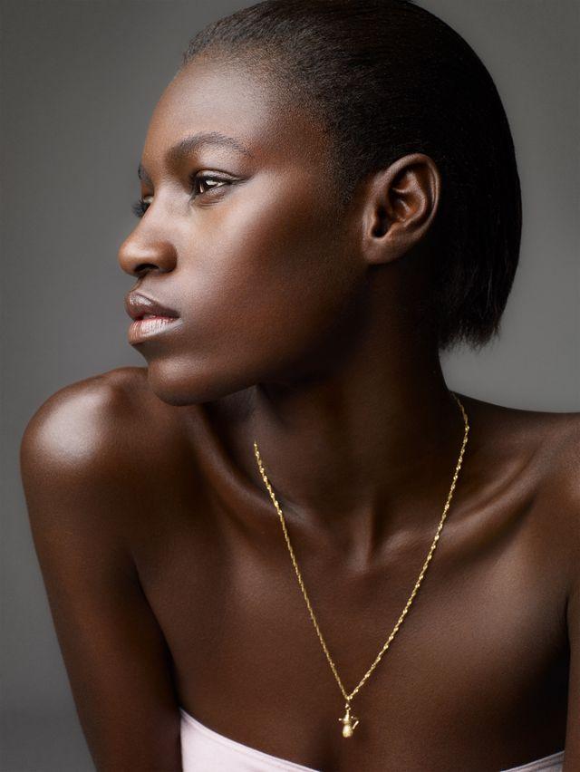 sarah silver skincare model