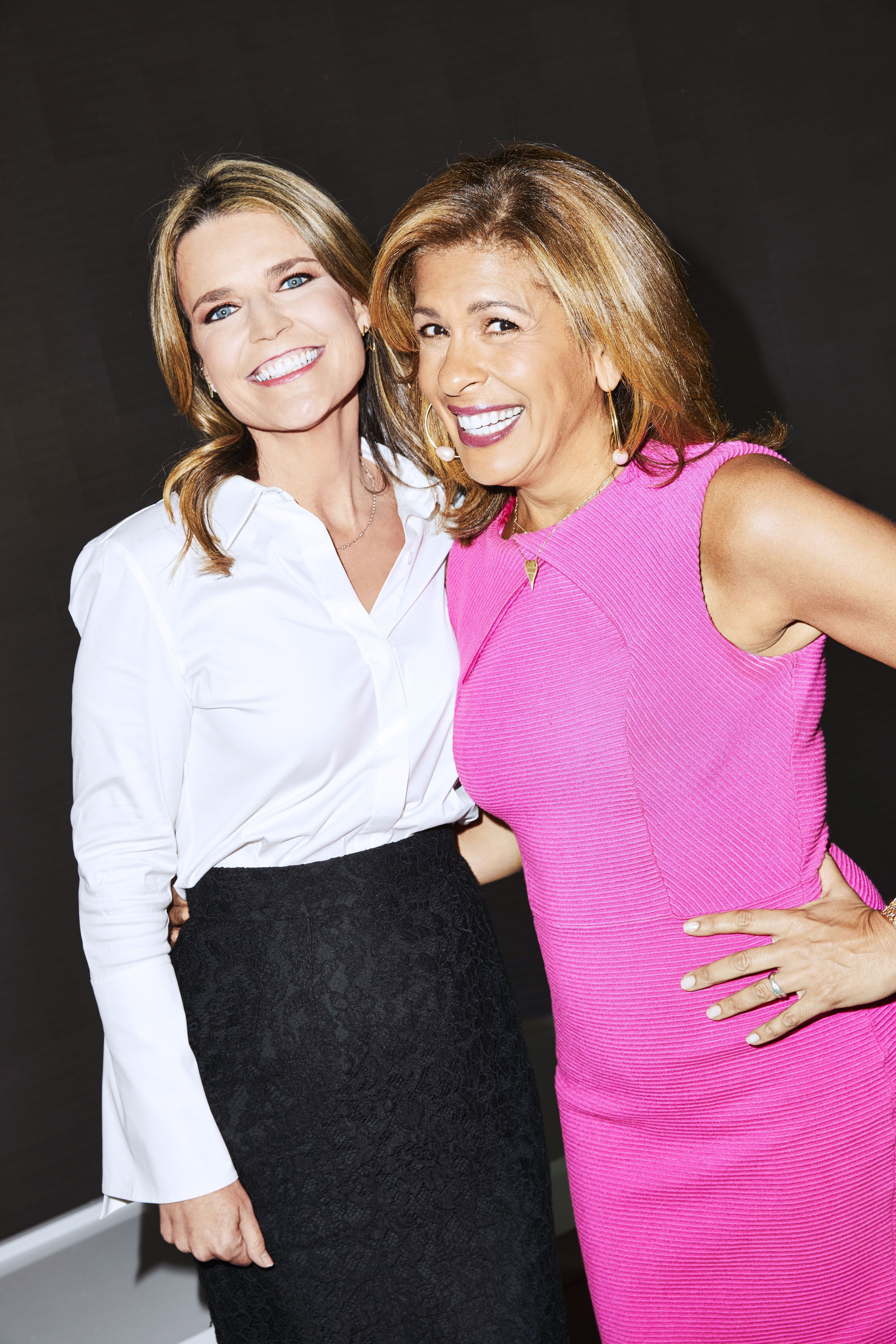 Savannah Guthrie And Hoda Kotb On Being Co Hosts Of The Today Show