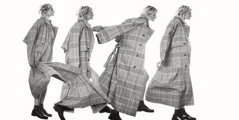 Standing, Costume design, Outerwear, Folk dance, Illustration, Gesture, Art,
