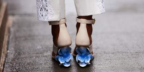 White, Blue, Photograph, Footwear, Shoe, Ankle, Dress, Fashion, Leg, Hand,