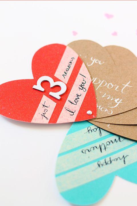 Heart Fan Card