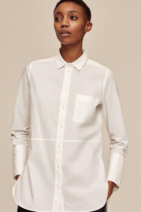 Me + Em white shirt