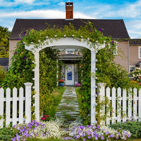 19 Practical And Pretty Garden Fence Ideas Best Materials To