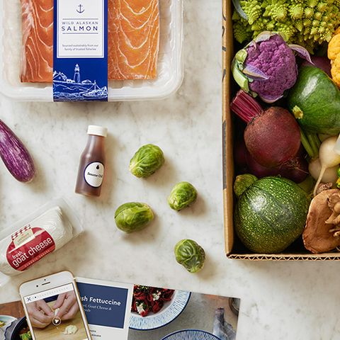 Blue Apron meal delivery kit