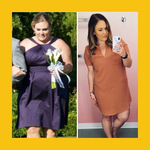 Weight Loss Success Story - Meal Prep