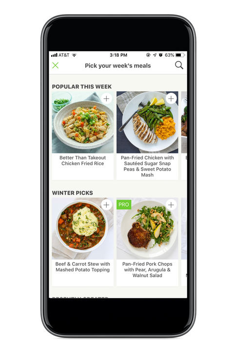 Mealime grocery shopping app