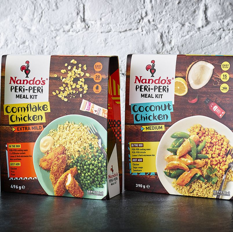 Nando's is launching full on meal kits so you can have PERi-PERi at home