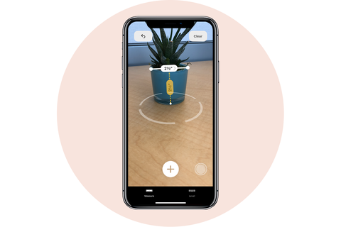 measure app apple iphone