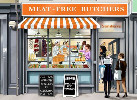 First meat free butcher