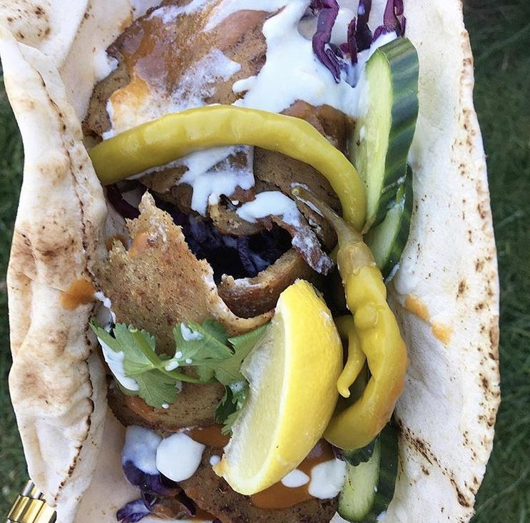 This delicious and healthy meat-free doner kebab will make you want to go vegetarian