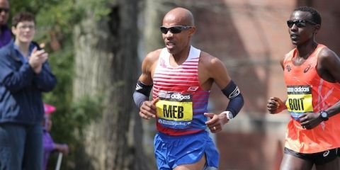 Meb leads Boston 2014