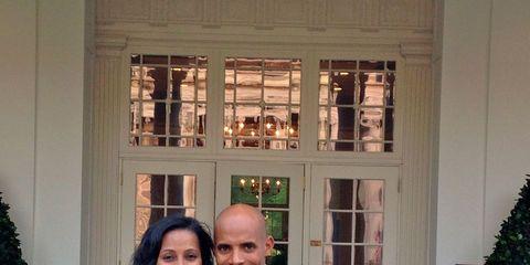Meb Keflezighi at White House dinner