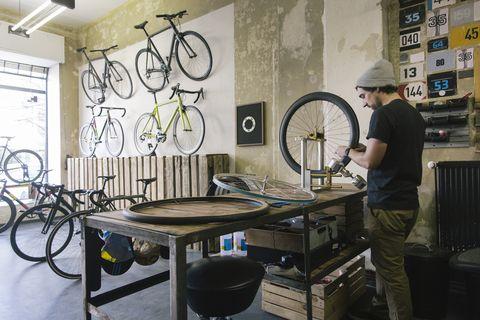 fabels over fiets onderhoud