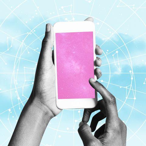 Text, Technology, Gadget, Hand, Electronic device, Design, Graphic design, Illustration, Magenta, Finger,