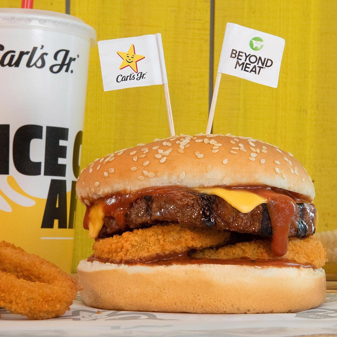 Carl's Jr. Has a New BBQ Cheeseburger—And It's Made With a Plant-Based Patty