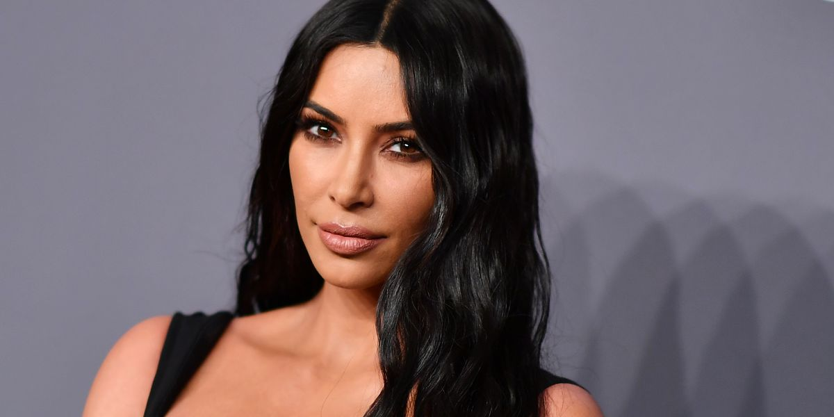 Kim Kardashian Just Shared a Candid Photo of Her Psoriasis