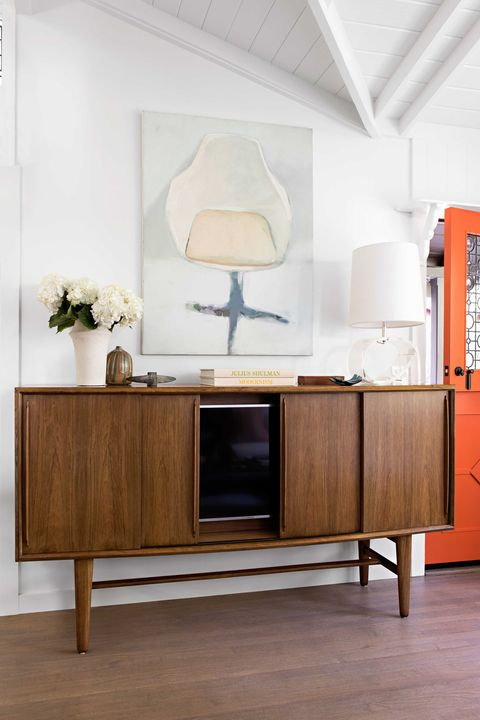 Credenza Media Room Ideas