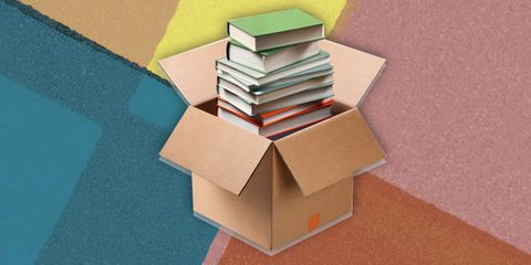 Architecture, Box, House, Construction paper, Shipping box, Illustration, Art,