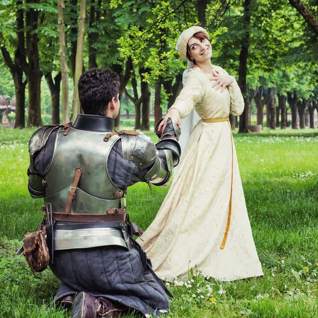 medieval marriage proposal
