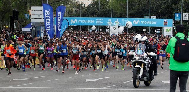 medio maraton madrid movistar